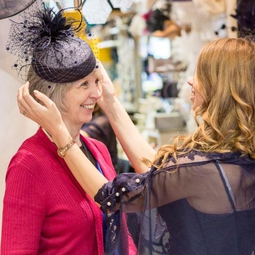 Beverley Edmondson Millinery Business Mentoring: London Hat Week 2018