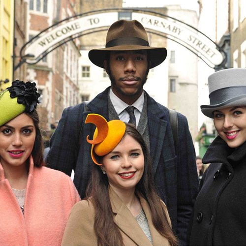 London Hat Walk - London Hat Week 2018