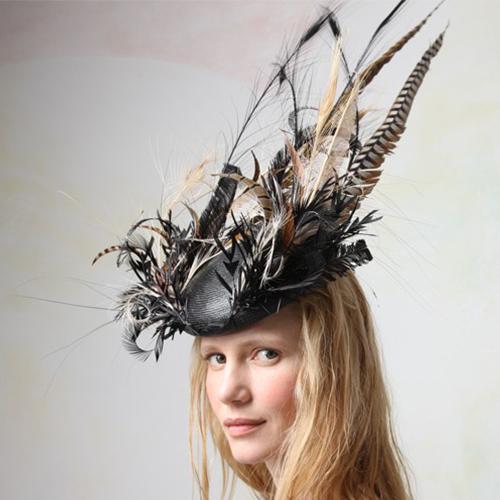 Jane Taylor Feather Workshop - London Hat Week 2018
