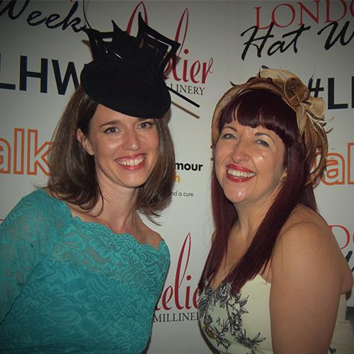 Becky Weaver and Georgina Abbott - London Hat Week Founders