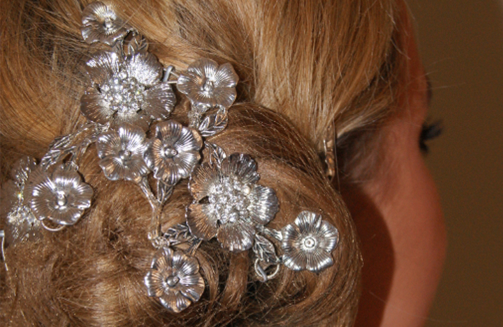 Hair Vines With Metal Piece Flowers The British School Of